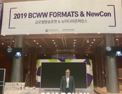 Jose Escalante of Latin Media Corporation present at BCWW Korea